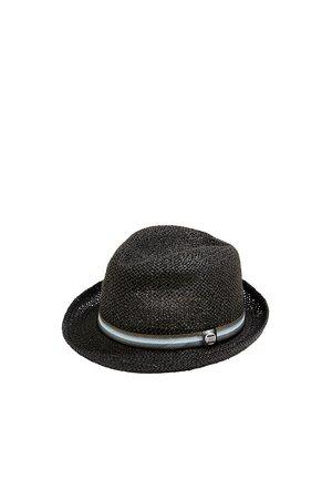 TRILBY-HUT MIT GESTREIFTEM BAND - Hat - black