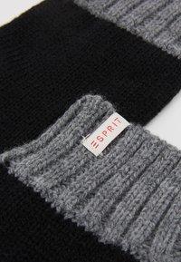 Esprit - GLOVES - Handschoenen - black - 3