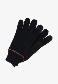 Esprit - GLOVES - Fingerhandschuh - black - 0