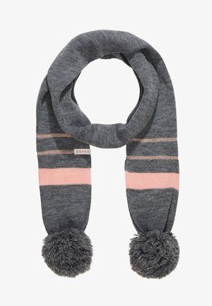 SCARVES - Szal - dark heather grey