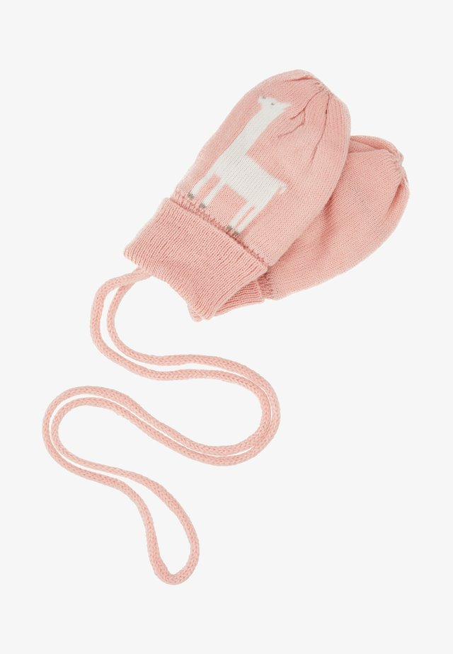 MITTENS BABY - Manoplas - light blush