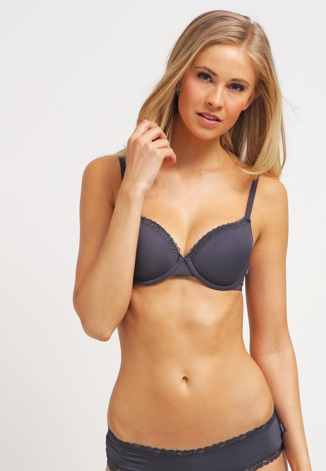 LISMORE PAD BRA MOULDED - Axelbandslös bh / Multifunktionsbh - dark grey