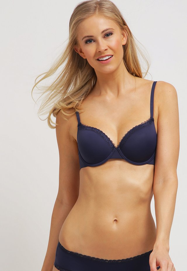 LISMORE PAD BRA MOULDED - Axelbandslös bh / Multifunktionsbh - happy navy