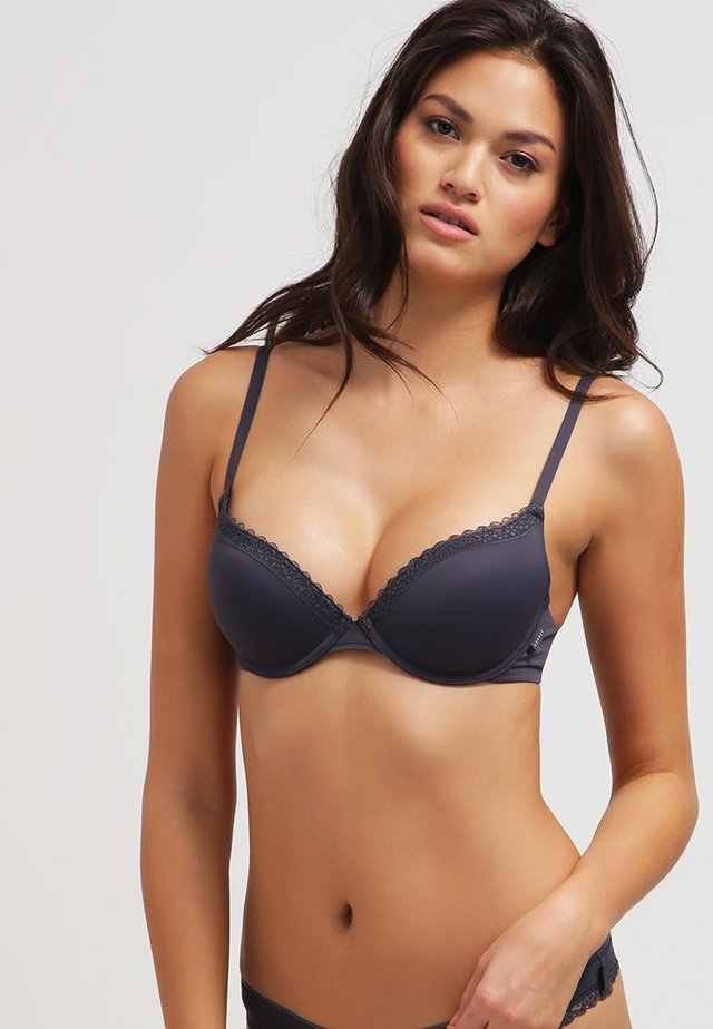 LISMORE - Sujetador push-up - dark grey