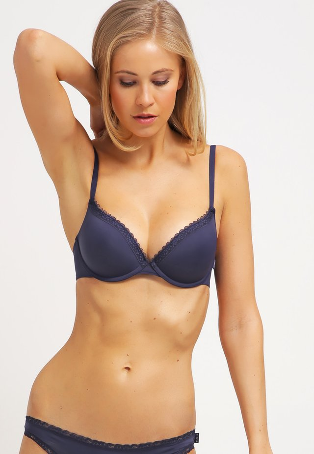 LISMORE - Sujetador push-up - happy navy