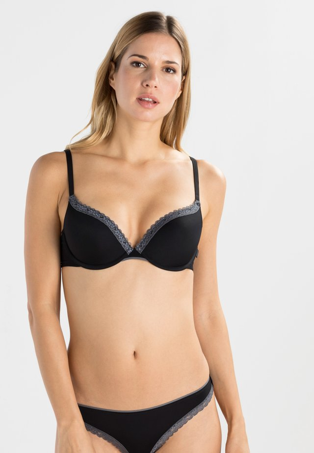 LISMORE - Sujetador push-up - black