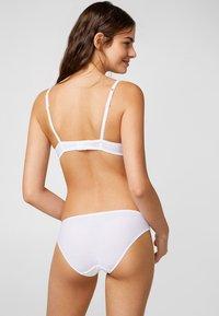 Esprit - MELTON - T-shirt BH - white - 1
