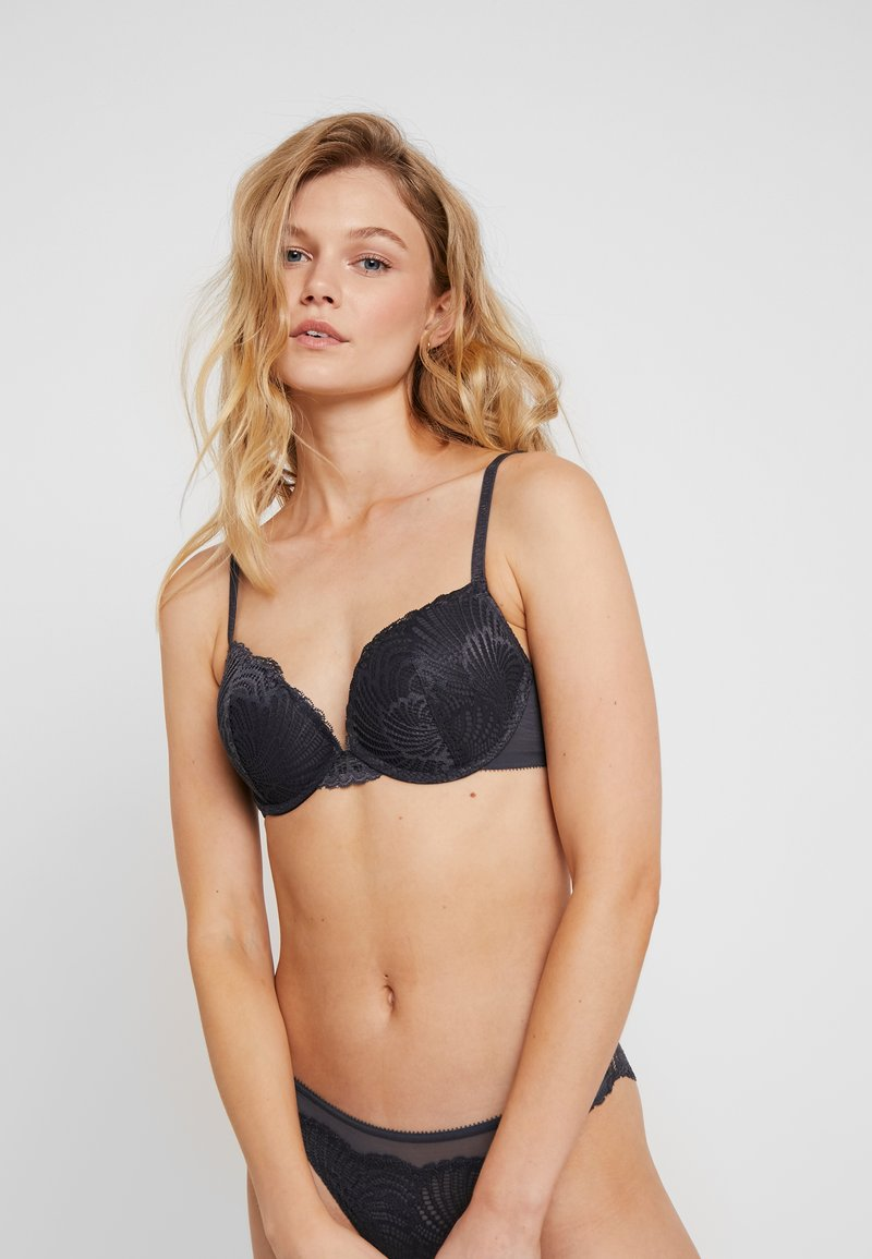 Esprit - TORRANCE CLASSIC - Push-up BH - anthracite