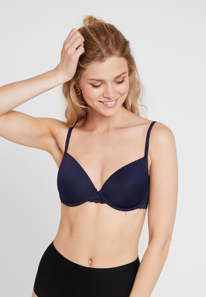 Esprit - DAILY MICRO PADDED - Beugel BH - navy