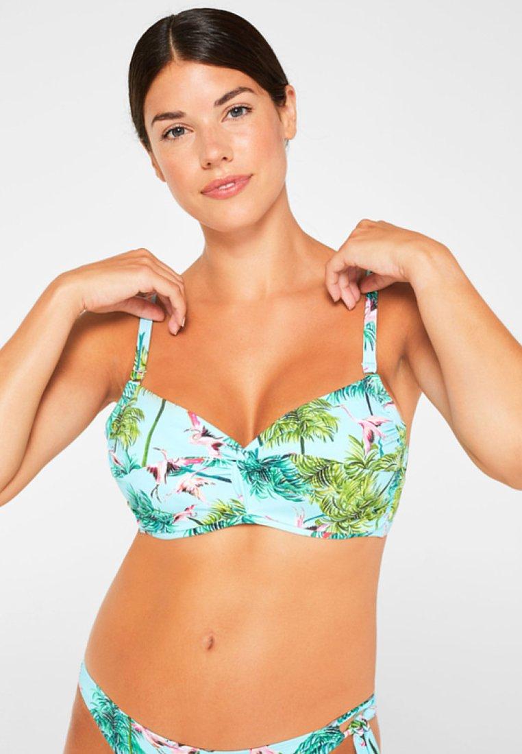 Esprit - Bikinitoppe - turquoise