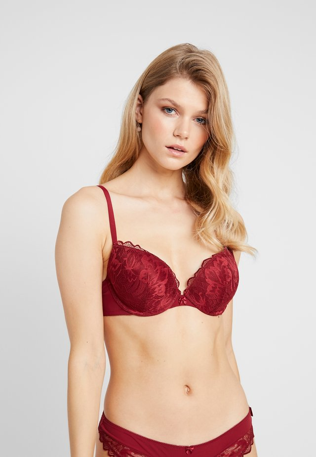 KELSIE CLASSIC - Sujetador push-up - dark red