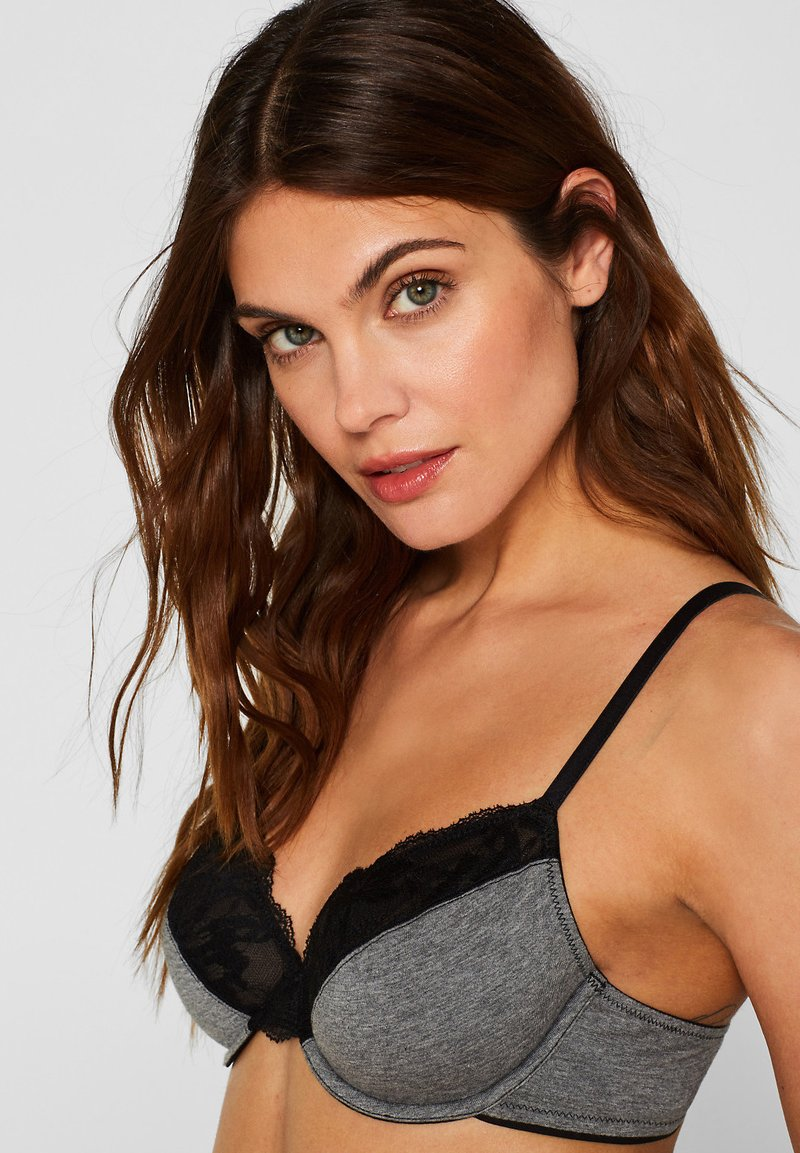 Esprit - Push-up BH - dark grey