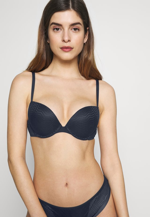 CORAH - Sujetador push-up - navy