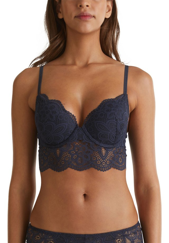 WATTIERTER MIT BREITER BLENDE - Triangel-bh - navy