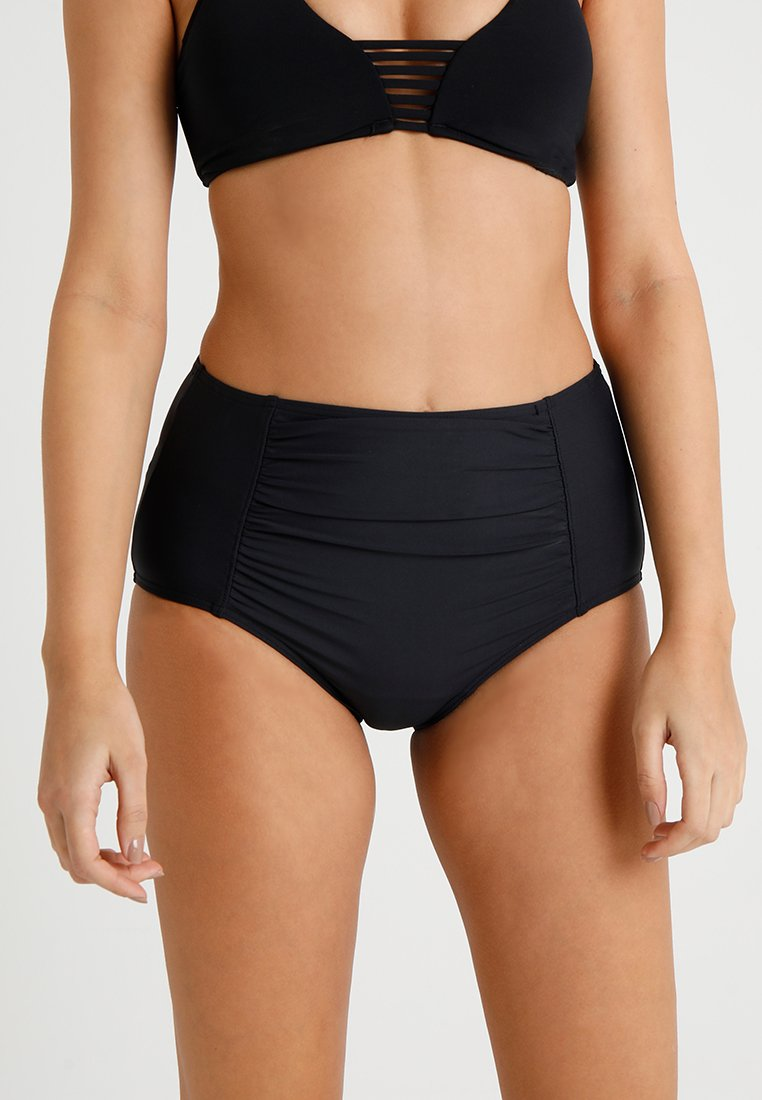 Esprit - CASTLE BEACH SHAPING HIGH BRIEF - Bikini bottoms - black