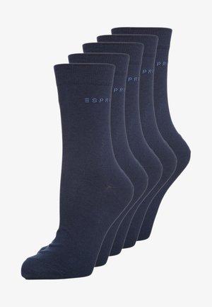 5-PACK - Sokken - blau