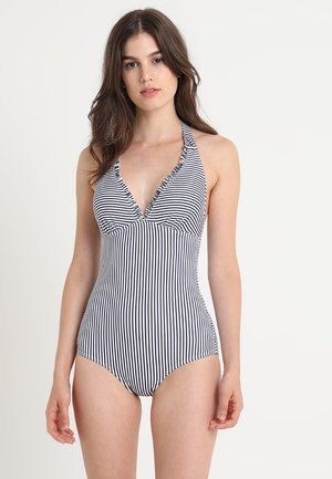 CLEARWATER BEACH HALTERNECK SWIMSUIT PADDED - Swimsuit - navy