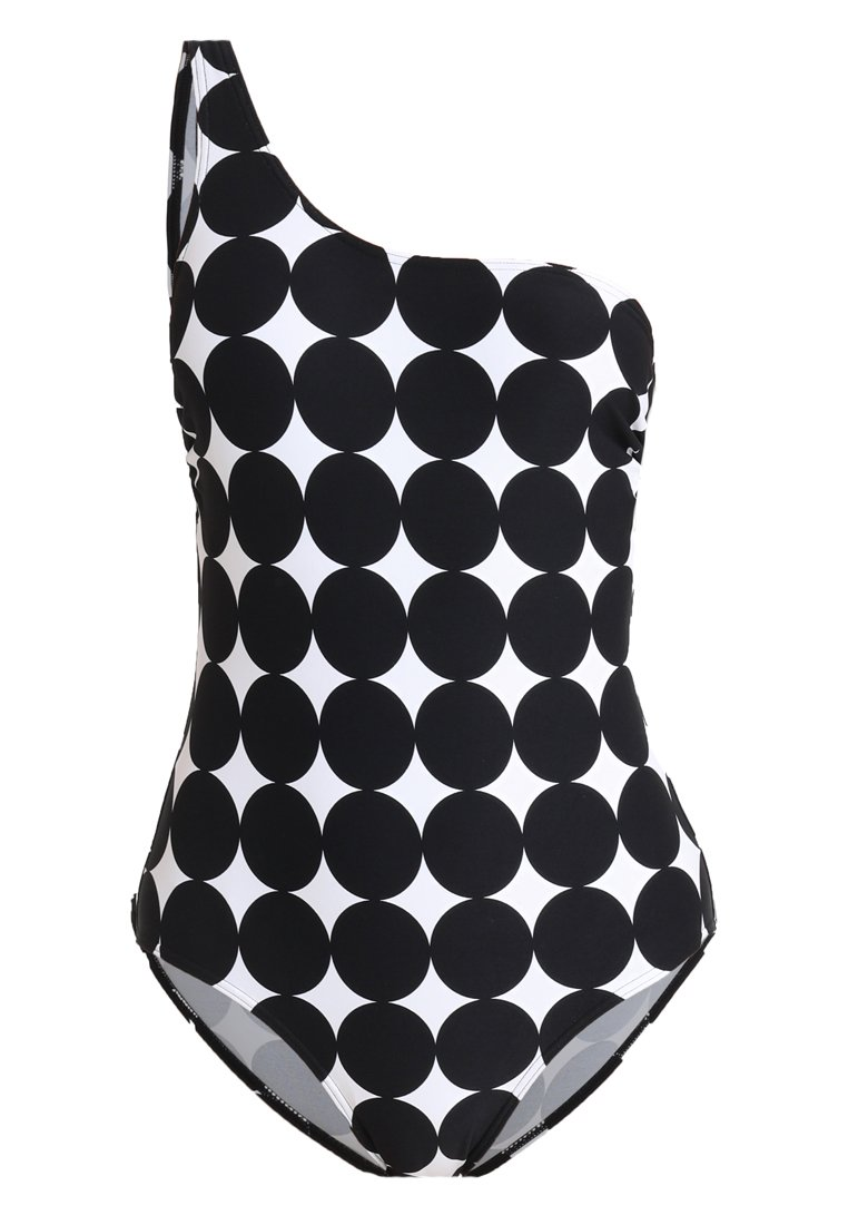 Esprit MIAMI BEACH ONE SHOULDER SWIMSUIT PADDED - Costume da bagno - black