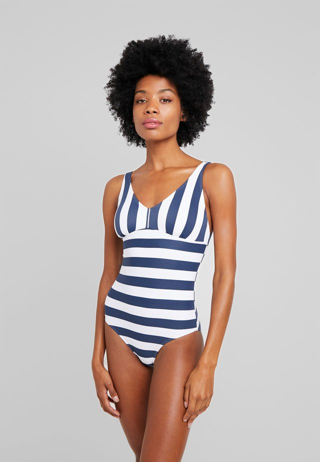 NORTH BEACH SWIMSUIT PADDED - Bañador - dark blue