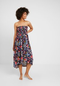 Esprit - JASMINE BEACH A TUBE DRESS - Strandaccessoire - ink - 0