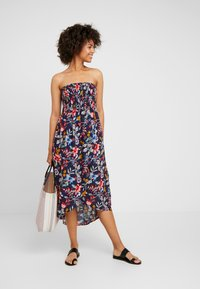 Esprit - JASMINE BEACH A TUBE DRESS - Strandaccessoire - ink - 1