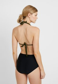 Esprit - OCEAN BEACH AY HIGH WAIST BRIEF - Bikiniunderdel - black - 2