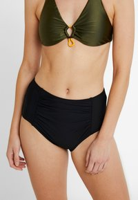 Esprit - OCEAN BEACH AY HIGH WAIST BRIEF - Bikiniunderdel - black - 0