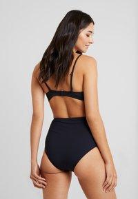 Esprit - MIA BEACH SHAPING HIGH WAIST BRIEF - Bikinibroekje - black - 2