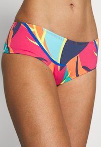Esprit - TILLY BEACH SEXY SHORTS - Swimming shorts - red orange - 5