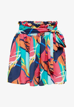 MIT TROPICAL-PRINT - Swimming shorts - red orange