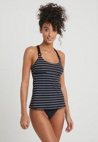 Esprit - MOONRISE BEACH PADDED TANKINI - Bikinitop - black - 1
