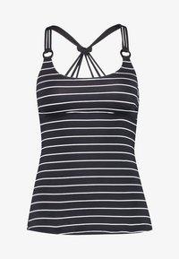 Esprit - MOONRISE BEACH PADDED TANKINI - Bikinitop - black - 4
