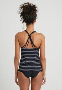 Esprit - MOONRISE BEACH PADDED TANKINI - Bikinitop - black - 2
