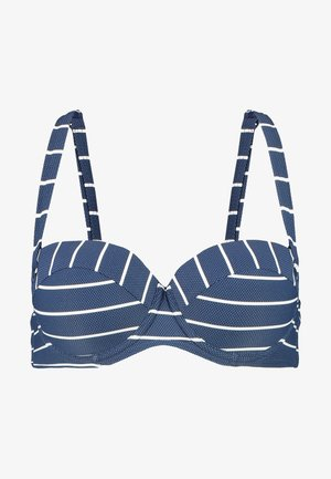 NELLY BEACH PADDED BRA - Bikinitop - dark blue