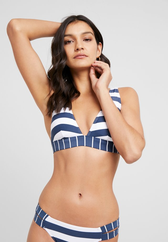 NORTH BEACH PADDED BRA - Top de bikini - dark blue