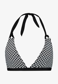 Esprit - DAYTONAH BEACH PADDED HALTERNECK - Bikini pezzo sopra - black - 3