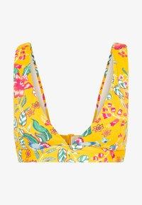 Esprit - JASMINE BEACH PAD BRA TOP - Bikini top - sunflower yellow - 4