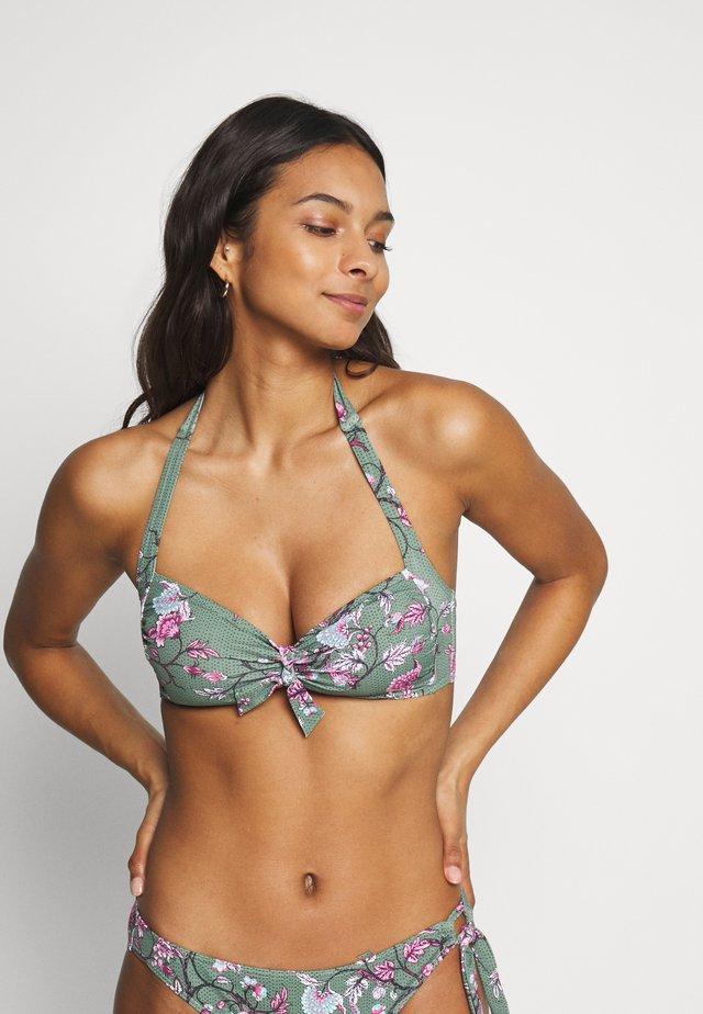 BILGOLA  - Bikini pezzo sopra - light khaki