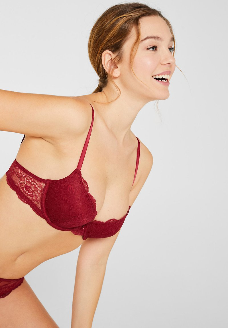 Esprit - Push-up BH - bordeaux
