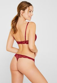 Esprit - Push-up BH - bordeaux - 1