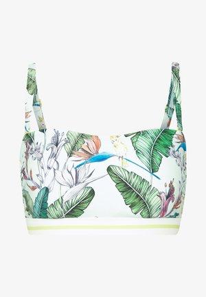 LILIAN BEACH - Bikini top - light aqua green
