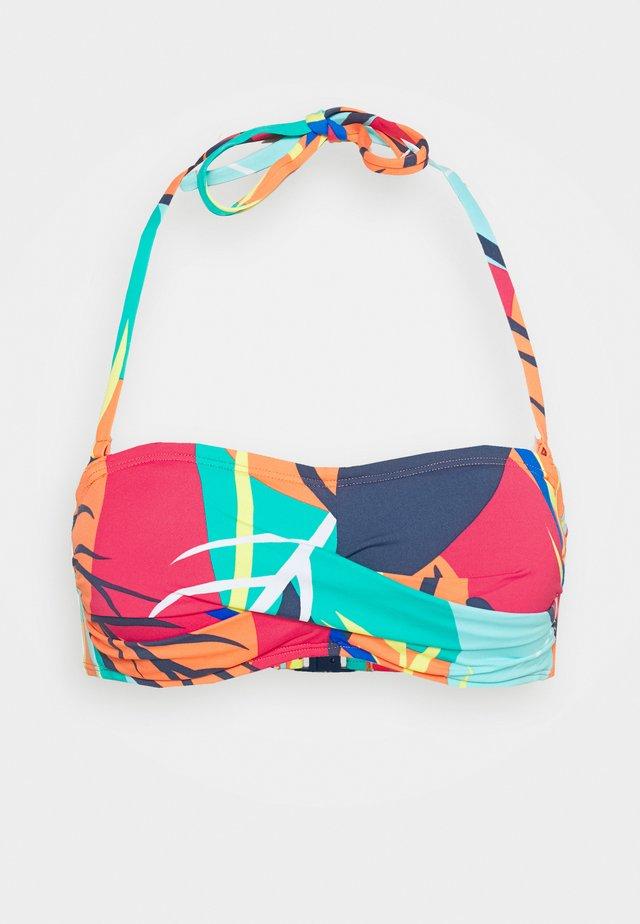 TILLY BEACH - Bikiniöverdel - red/orange