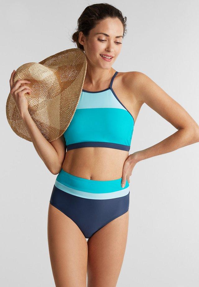 Bikiniöverdel - turquoise