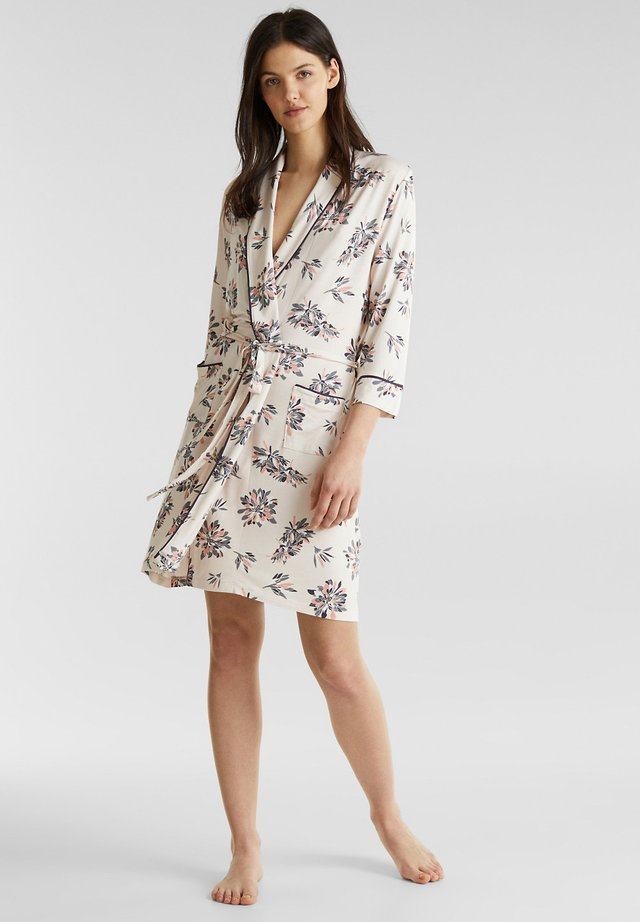 MIT PRINT - Dressing gown - ice