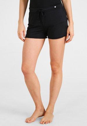 SINGLE SHORT - Nattøj bukser - black