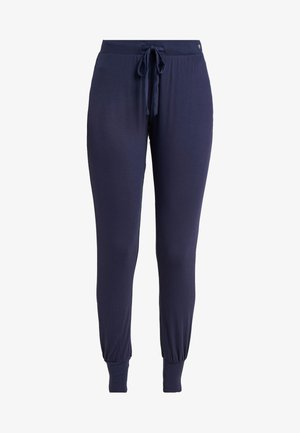 JAYLA SINGLE PANTS SOLID - Pyjamasbukse - navy
