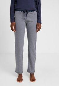 Esprit - JORDYN SINGLE PANTS LEG - Pyjamasbukse - navy - 0