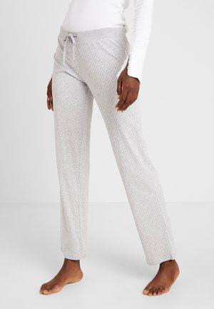 JORDYN SINGLE PANTS - Pyjamabroek - light grey
