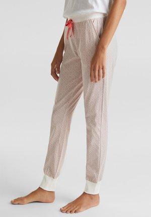MIT PRINT, 100% BAUMWOLLE - Pyjamabroek - light pink
