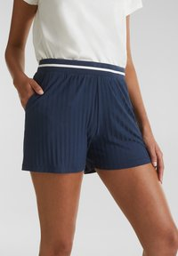 Esprit - Shorts - navy - 5